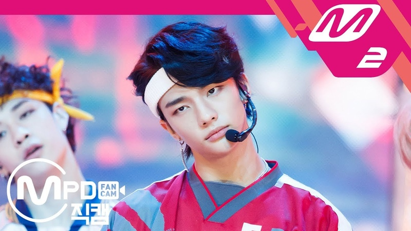 [MPD직캠] 스트레이 키즈 현진 직캠 'My Pace' (Stray Kids HYUN JIN FanCam) | @MCOUNTDOWN_2018.8.9