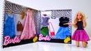 La ropa para Barbie muñeca. Vídeos para niñas.