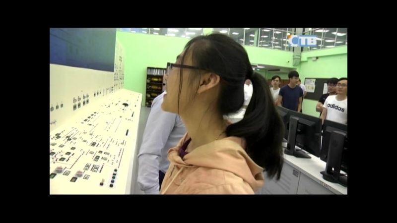 19.07.2018 13 студентов из Вьетнама стажируются на ЛАЭС-2