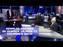 REINALDO AZEVEDO SE DESPEDE DA REDE TV ...COÇANDO O SACO EM REDE NACIONAL