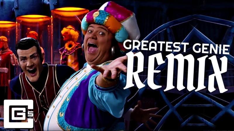 LazyTown ▶ Greatest Genie (Remix/Cover) [feat. DAGames Swiblet] | CG5