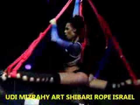 Rope israel art shibari bondage suspension art session