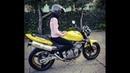 Honda HORNET 600 🏍 tested by a GIRL 👧🏻💕cb600f