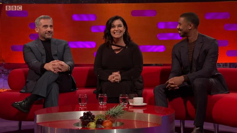 The Graham Norton Show 24x09 - Steve Carell, Dawn French, Michael B. Jordan, Ruth Wilson