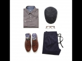 Сочетай модные джоггеры с классической рубашкой не только в пятницу. Будь на модной волне с TOM TAILOR 👌🏻
