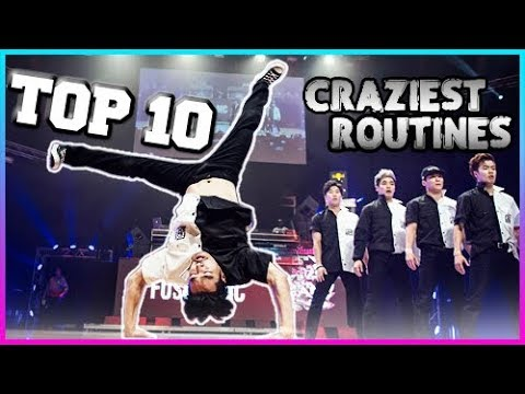 TOP 10 Craziest Routines in Breakdance