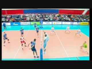 Волейбол  ЧР мужчины  5-й тур Ярославич Ярославль  vs Динамо Москва