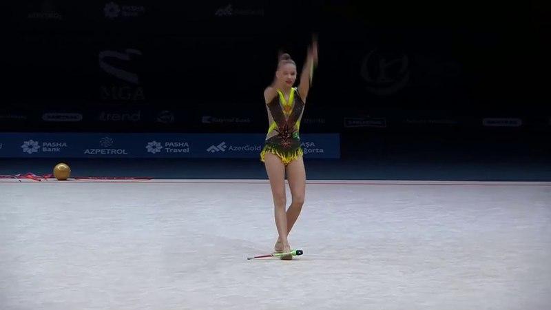 Anastasiia Sergeeva - Clubs Q - AGF Junior Trophy 2018