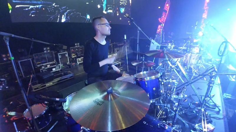Roman Hood / Скворцы Степанова - Белка (Live Drum Cam) / Rock'n'ball, Ледовый дворец