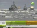 Северный Флот проводит учения в Восточно-Сибирском море