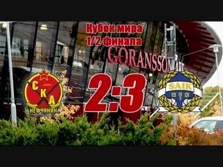 СКА-Нефтяник - Сандвикен 2:3. Кубок мира-2018.