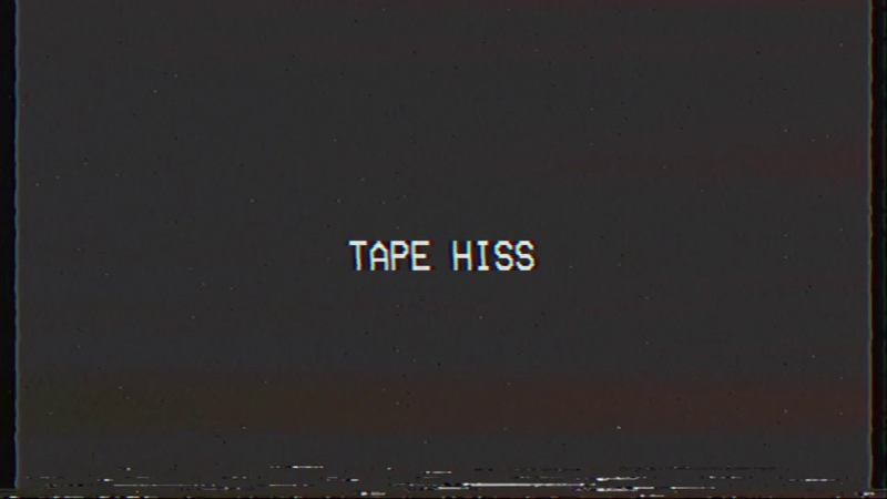VCR Tape Hiss Sound Effect VHS Camera Buzz 80's 90's Home Video