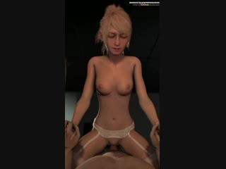 vk.com/watchgirls Rule34 Final Fantasy Lunafreya Nox Fleuret 3D porn sound