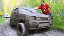 Колёса от грузовика на Оку Жёсткое испытание грязью Спарка Рулит