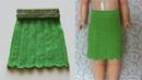 Вязание юбки Юбка спицами Поперечное вязание Вязание спицами knitting skirt