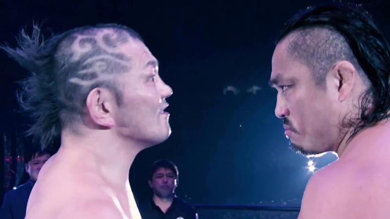NEVER Openweight Championship- Hair vs Hair- Minoru Suzuki (Champion) vs Hirooki Goto WRESTLE KINGDOM 12