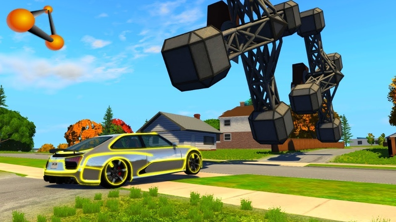 BeamNG.drive - Gear Style Against Cars Crashes