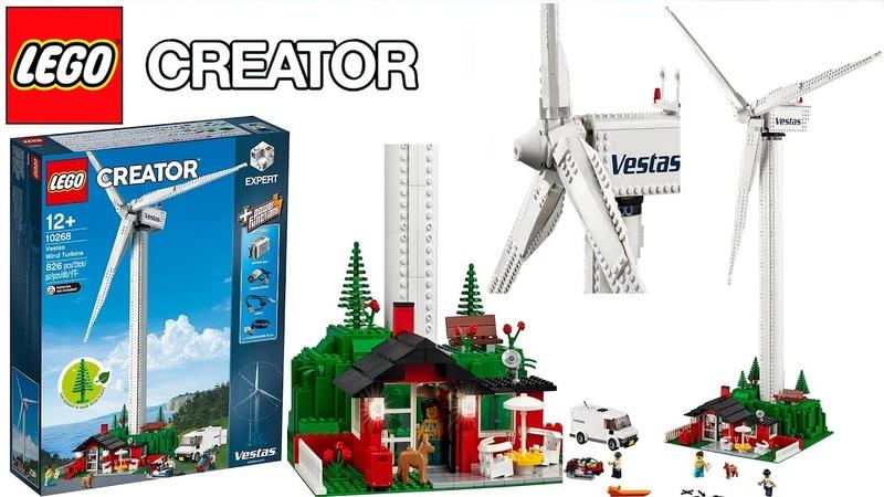 LEGO Creator Expert 10268 Vestas Wind Turbine 2018 Set