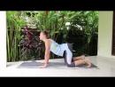 Йога Флоу для начинающих Силовая практика 30 минут
