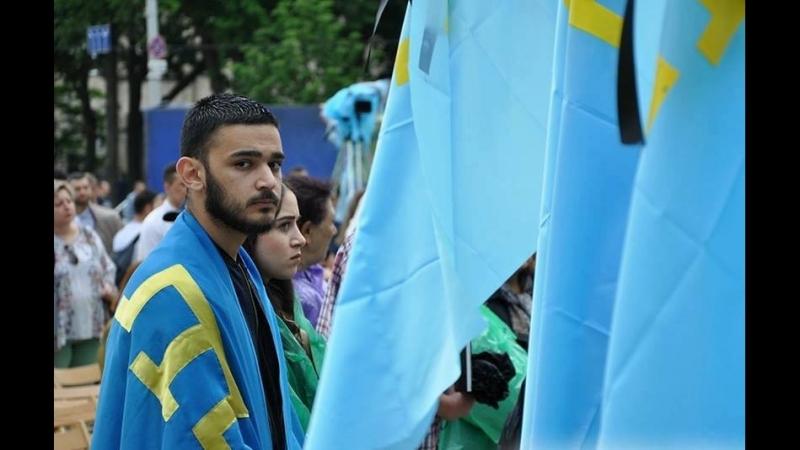 Вечір-реквієм в память про депортацію кримських татар відбувся на Софійській площі Києва