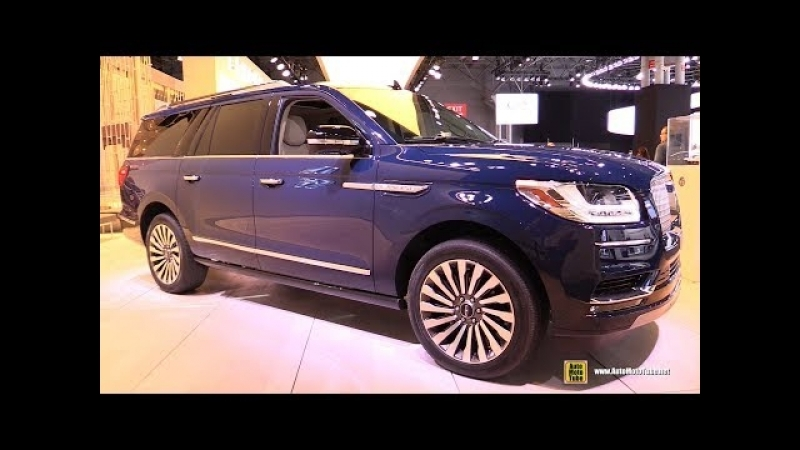 2018 Lincoln Navigator L - Exterior and Interior Walkaround - 2018 New York Auto Show