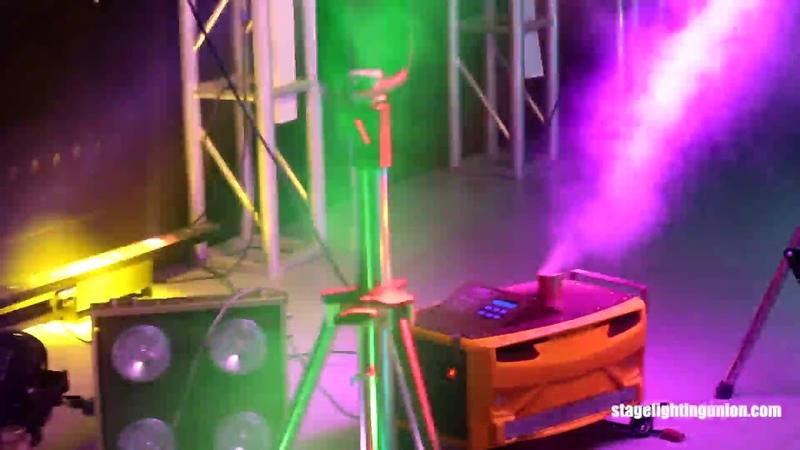 Effect bar light |fog machine | follow spot light stand