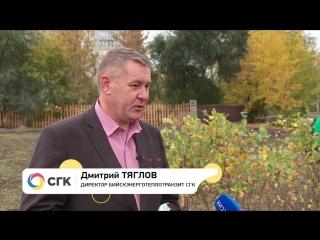 Как в Бийске прошёл экомарафон Зелёной Дружины СГК?
