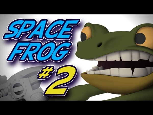 Space Frog 2 - Ambient Occlusion
