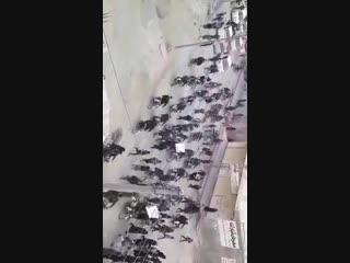 فرات_بوست - دير_الزور الريف الشرقي - مظاهرات حاشدةفي قرى الشعيطات بعد صلاة الجمعة للضغط على قسد لقبول عرض تنظيم الدولة بالمفاوضة