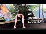 4 week SLIM LEG SERIES Workout 6 QUICK AT-HOME CARDIO