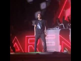 Выступление a$ap rocky в москве [cloud music]