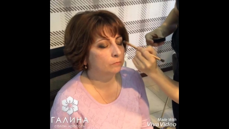 Экспресс макияж клиентке Наталья