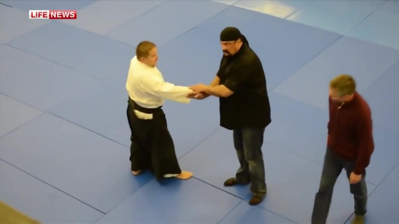 Стивен Сигал мастер класс в Удмуртии 2013