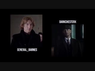 Antichrist and Archangel by darkchesterx and general_barnes