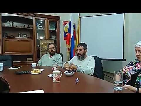 Встреча с Сергеем Ивановичем Грошевым и Вячеславом Кныш Полубояриновым 31 08 2018