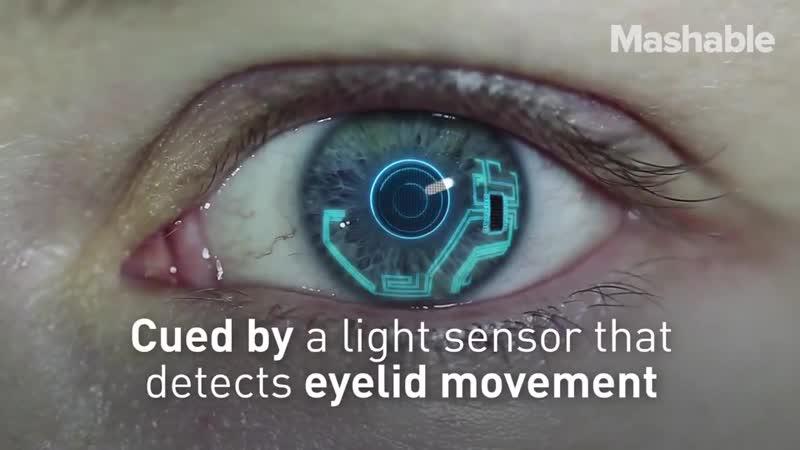 Контактные Линзы Камеры - Contact Lenses Camera