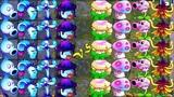 Pvz2 Battlez Team Enchant-mint Vs Team Conceal-mint in Plants vs. Zombies 2