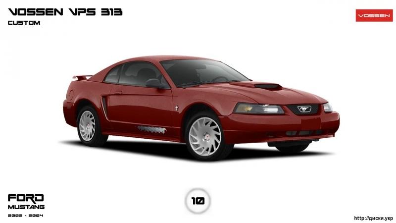 Диски Форд MUSTANG 2002 2004