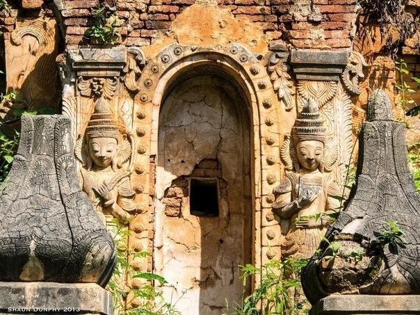 долина сотни древних пагод: затерянная храмовая деревня в джунглях мьянмы есть в мьянме удивительное место – долина сотни древних пагод, расположенная неподалёку от развалин монастыря xiii века.