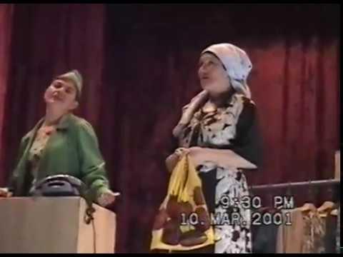 Татарча спектакль - Сафура бураннары
