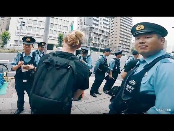 STORROR PARKOUR VS TOKYO POLICE 🇯🇵