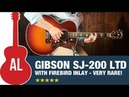 Gibson SJ-200 with Firebird Inlay - VERY RARE!!