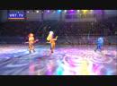 Ирина Слуцкая и Фиксики поздравили с Новым годом наших ребят Ёлка главы прошла в ледовом дворце спорта Кристалл
