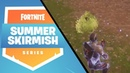 Hogman with two amazing eliminations [Fortnite Summer Skirmish]