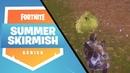Hogman with two amazing eliminations Fortnite Summer Skirmish