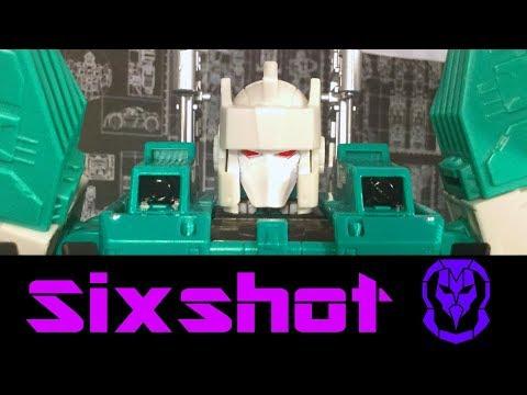 Hasbro Transformers Titans Return Sixshot