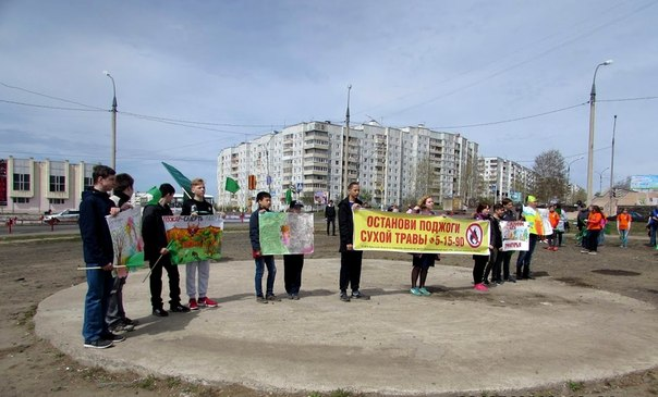 В Усть-Илимске прошла акция «Сохраним леса Приангарья»