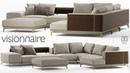 №101.Моделирование дивана Visionnaire BACKSTAGE в 3d max и marvelous designer