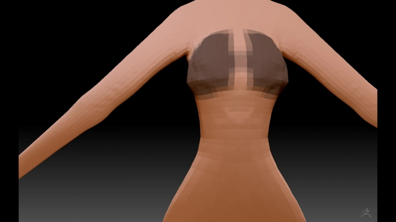 ZBrush Movie of prototype body base