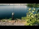 На рыбалку за крупной плотвой в июле на большую воду водохранилища